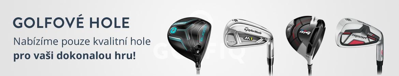 Kvalitní golfové hole - výhodná cena