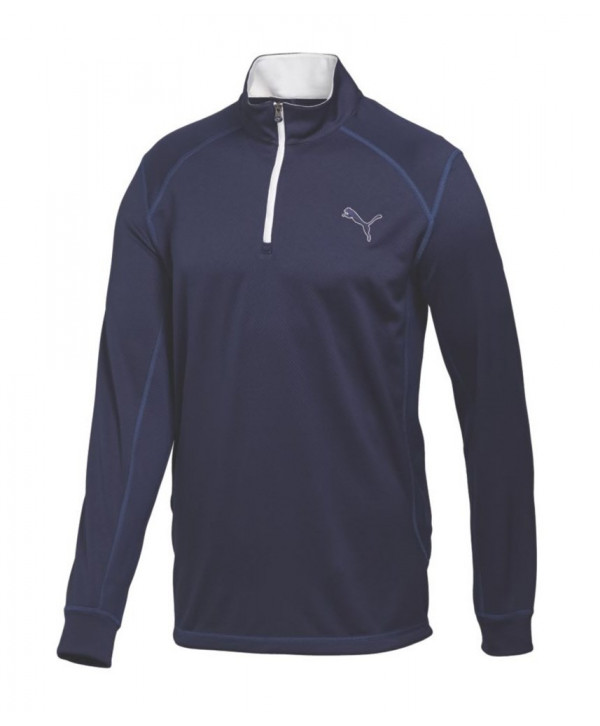 Puma Golf Boys Long Sleeve Quarter Zip Top