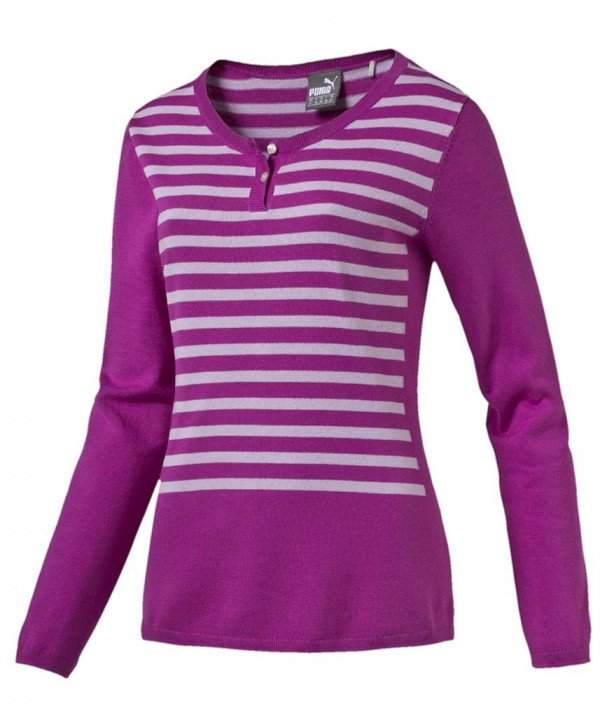 Dámský golfový svetr Puma Scoopneck