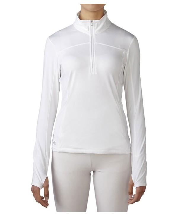 Adidas Ladies Essentials Range Wear Half Zip Top