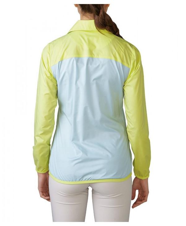 Adidas Ladies Quarter Zip Wind Jacket