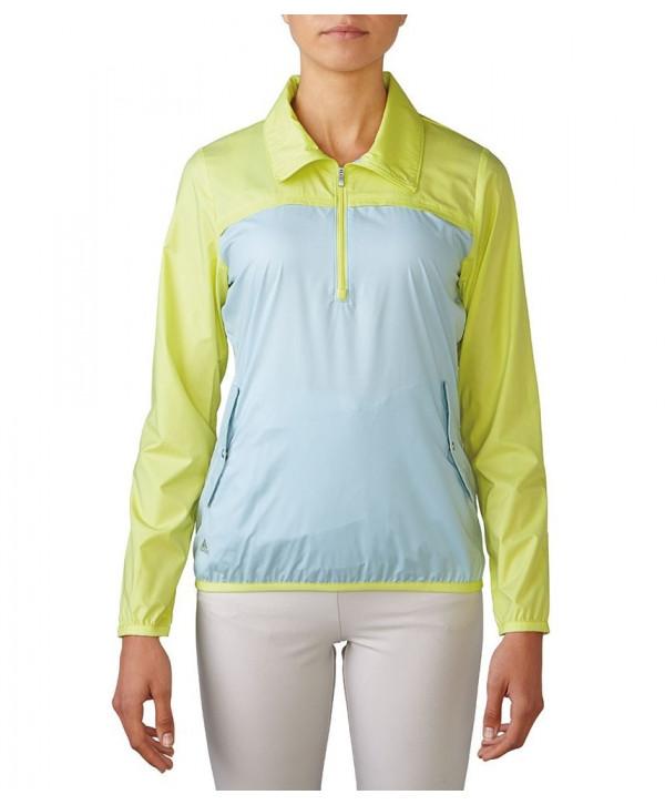 Dámská golfová bunda Adidas Quarter Zip Wind
