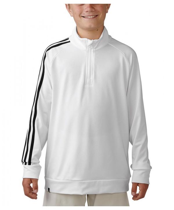Adidas Boys 3-Stripe Quarter Zip Top  c7affce16c2