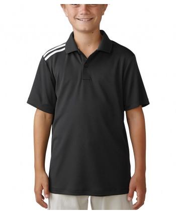 Detské golfové tričko Adidas ClimaCool 3-Stripes
