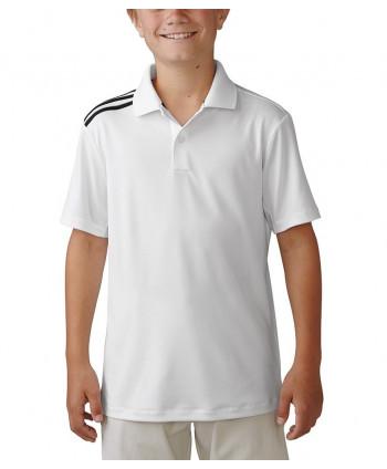 Dětské golfové triko Adidas ClimaCool 3-Stripes
