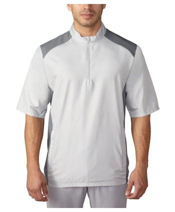 Pánská golfová bunda Adidas Club s krátkým rukávem