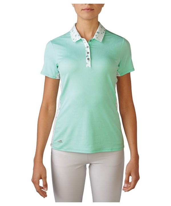 Dámské golfové triko Adidas Advance Bonded