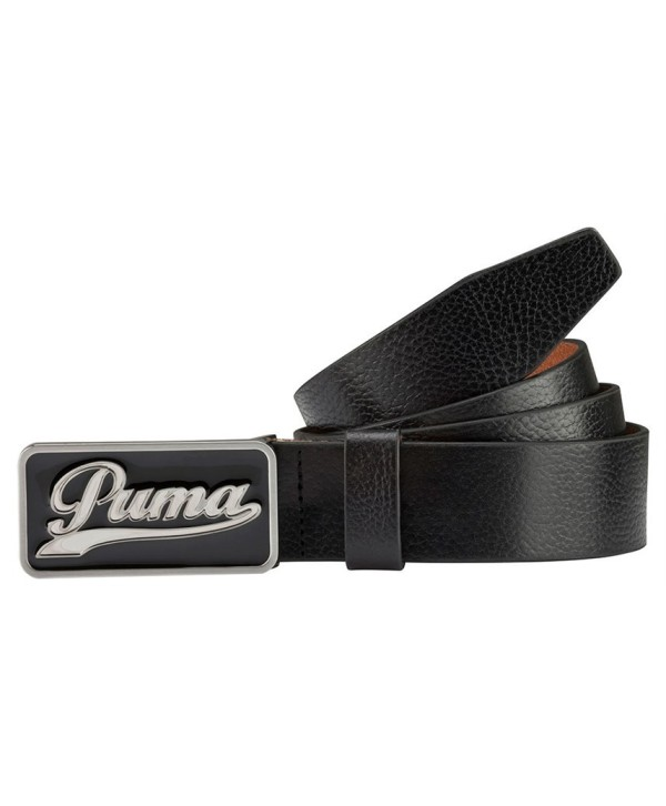 Puma Golf Script Cut to Length Belt