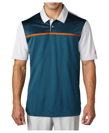 Pánské golfové triko Adidas ClimaCool Dot Camo