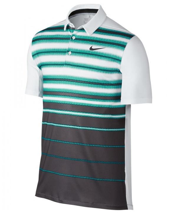 Pánské golfové triko Nike Mobility Fade Stripe