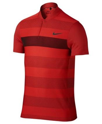 Pánské golfové triko Nike MM Fly Swing Knit Stripe Alpha