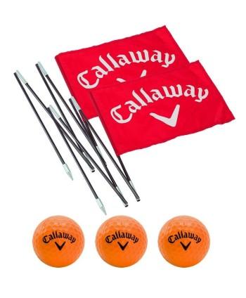 Tréninková jamka a míčky Callaway