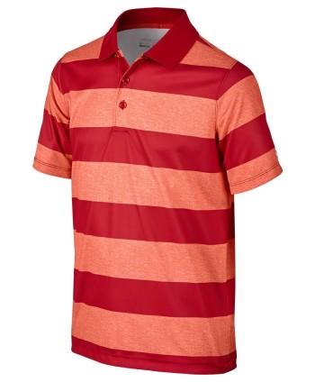 Detské golfové tričko Nike Bold Stripe Polo