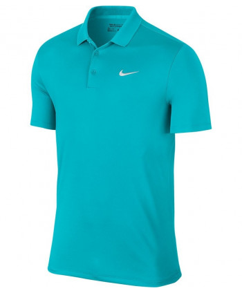 Nike Mens Victory Solid Polo Shirt (Logo On Chest)