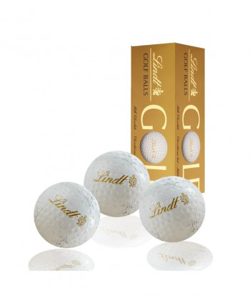 Lindt čokoládové golfové míčky (3ks)