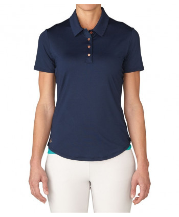 Dámské golfové triko Adidas Essentials 3 Stripes