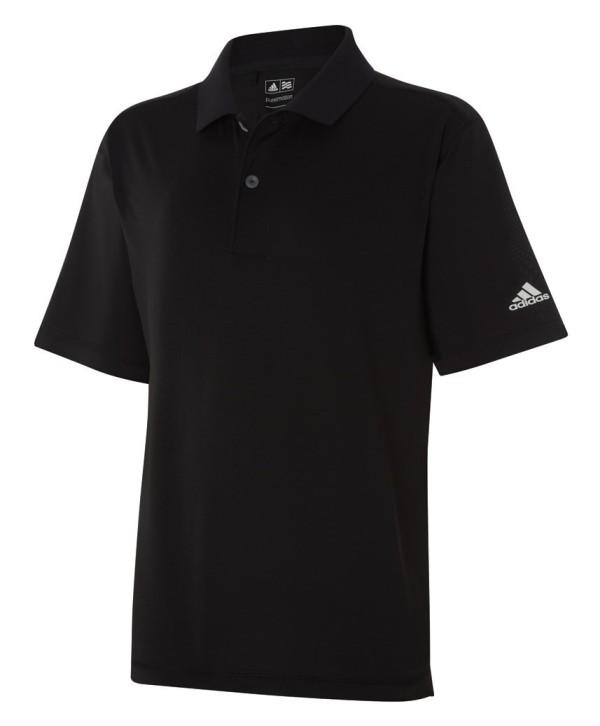 Adidas Boys Solid Jersey Polo Shirt