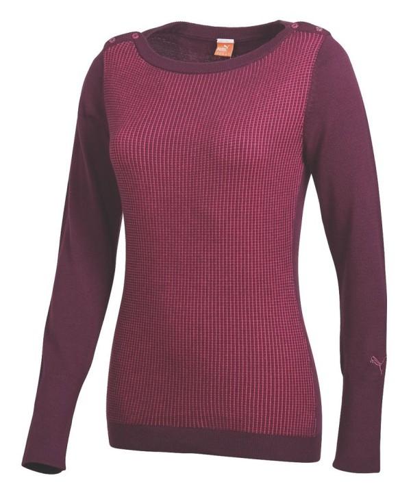 Puma Golf Ladies Crew Neck Sweater