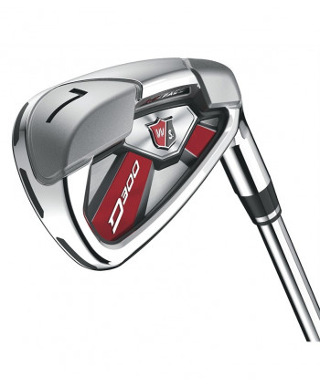 Wilson Staff D300 Irons (Steel Shaft)