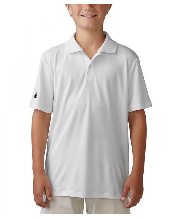 Dětské golfové triko Adidas AdiPerform 2017