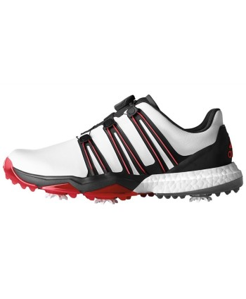 Adidas Mens Powerband Boost WD Boa Golf Shoes