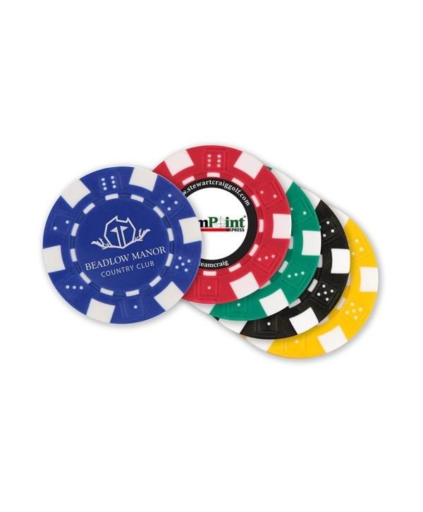 Personalizované markovátko Poker Chips (40 mm)