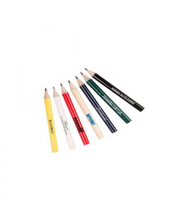Personalizované dřevěné tužky s gumou