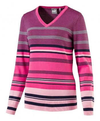 Puma Golf Ladies Depths V Neck Sweater