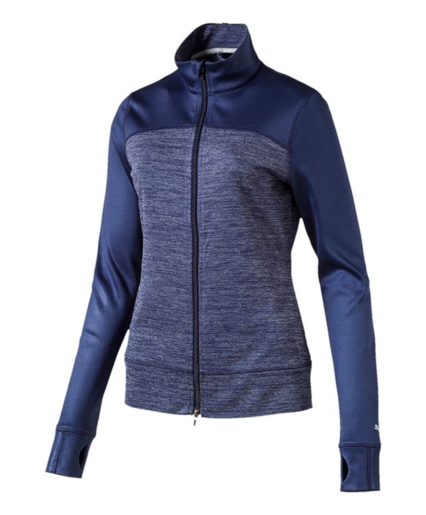 Puma Golf Ladies Colourblock Full Zip Jacket