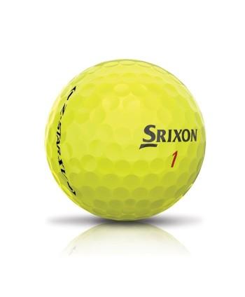 Golfové míčky Srixon Z-Star XV Tour 2017, žluté
