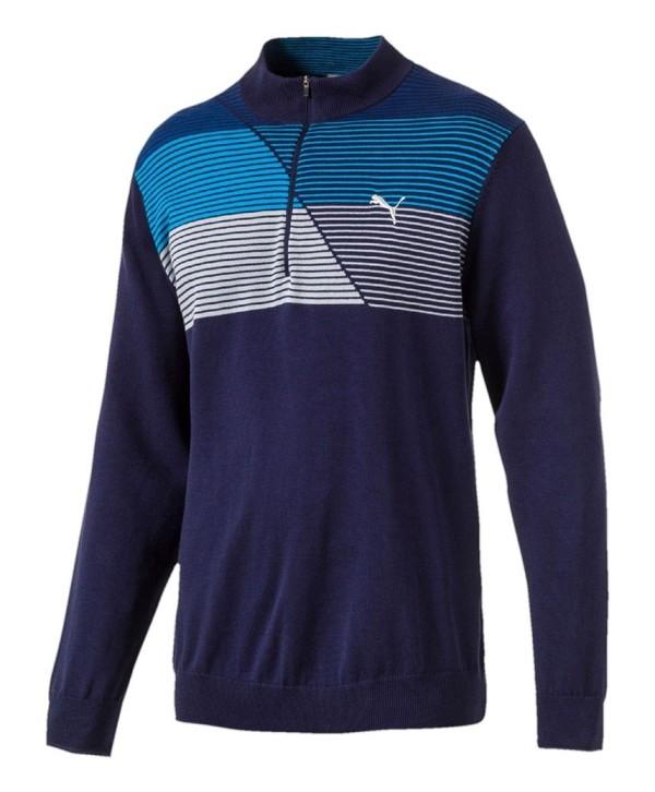 Puma Golf Mens Levels Quarter Zip Sweater