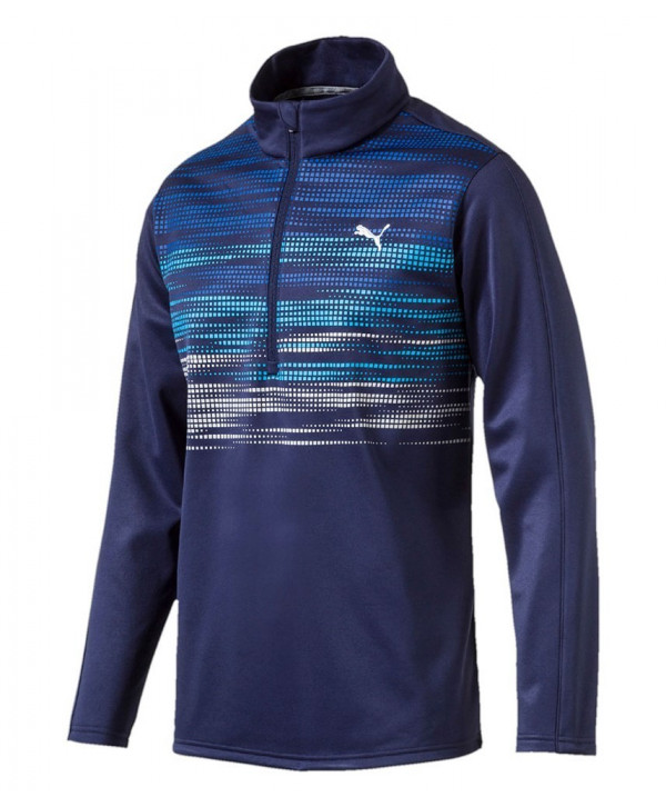 Puma Golf Mens Uncamo Quarter Zip Popover