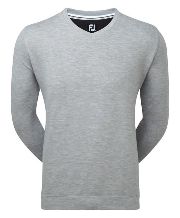 FootJoy Mens Spun Poly V-Neck Sweater