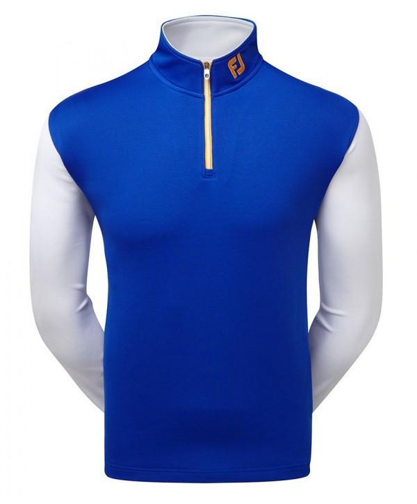 Pánská golfová mikina FootJoy Double Layer Contrast Chill Out Pullover