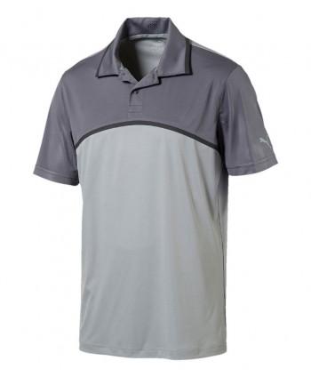 Puma Golf Mens Tailored ColourBlock Polo Shirt