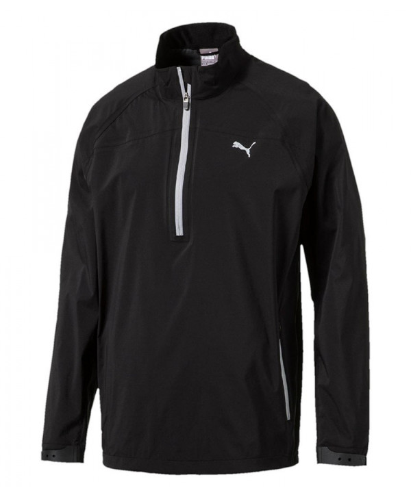 Pánská golfová bunda Puma Long Sleeve Rain Popover