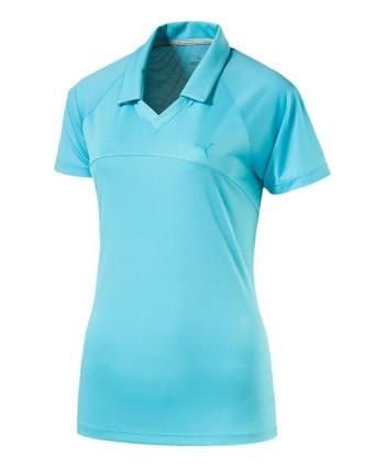 Puma Golf Ladies Mesh Polo Shirt