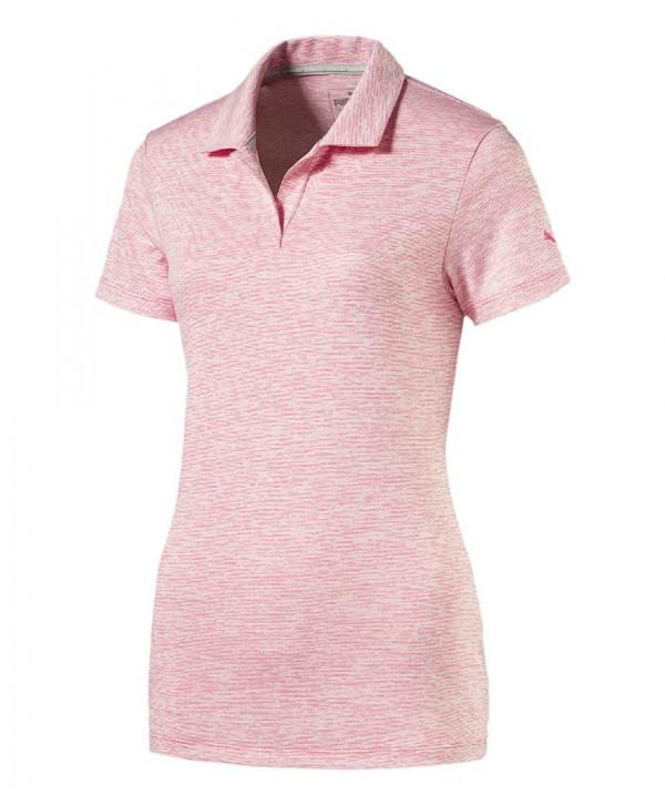 Dámské golfové triko Puma Space Dye Polo Shirt