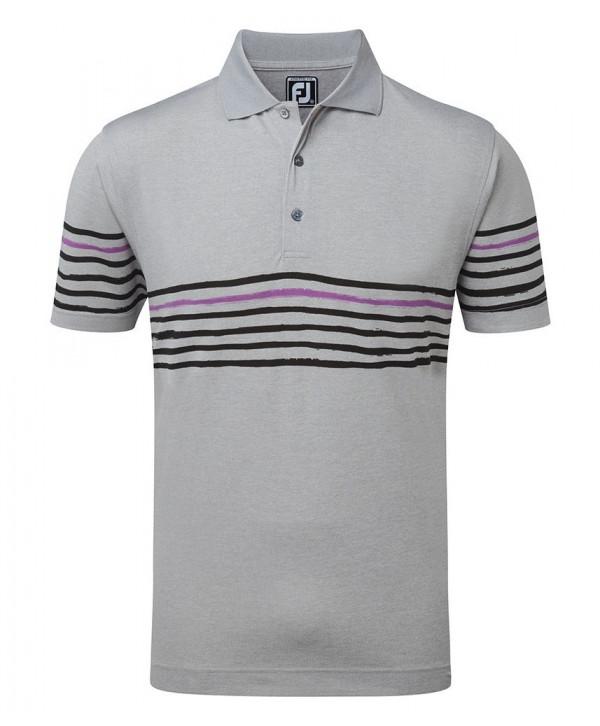 Pánské golfové triko FootJoy Stretch Pique