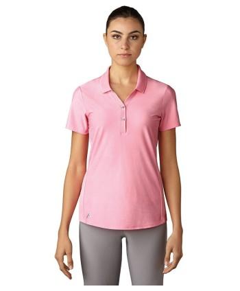 Dámské golfové triko Adidas Essential Jacquard Polo Shirt 2017