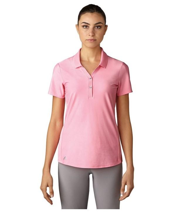 Dámské golfové triko Adidas Microdot Short Sleeve Polo Shirt 2017