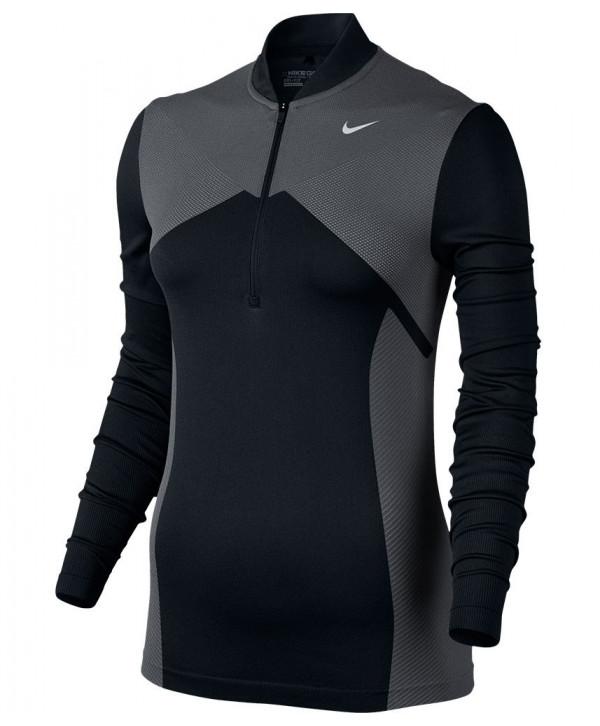 Dásmká golfová mikina Nike Zonal Cooling Dri Fit Knit Half Zip Top