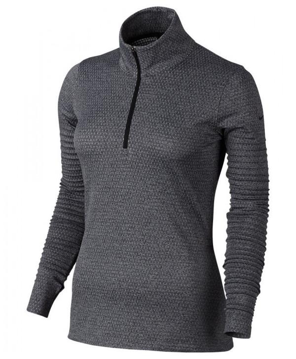 Dásmká golfová mikina Nike Zonal Cooling Dri Fit Knit Half Zip Top 2017