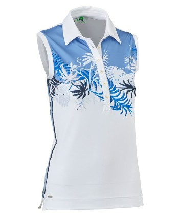 Daily Sports Ladies Paola Sleeveless Polo Shirt