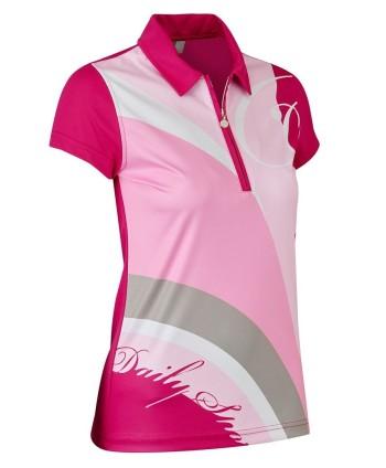 Dámske golfové tričko Daily Sports Lottie Cap Sleeve Polo Shirt