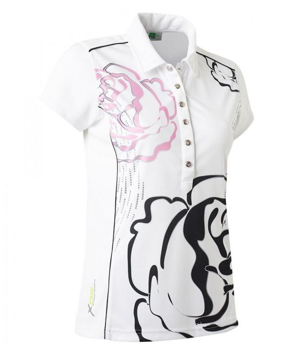 Daily Sports Ladies Whitney Cap Sleeve Polo Shirt