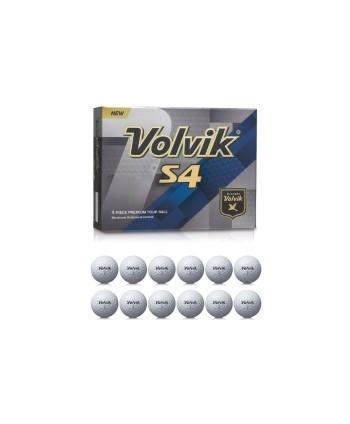 Golfové míčky Volvik S4 (12 ks)