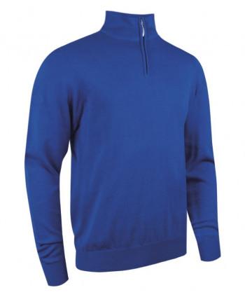 Pánsky golfový sveter Glenmuir Devon Zip Neck Sweater