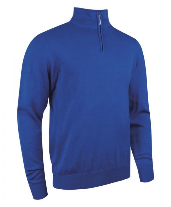Glenmuir Mens Devon Zip Neck Sweater