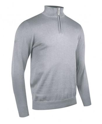 Pánský golfový svetr Glenmuir Devon Zip Neck Sweater
